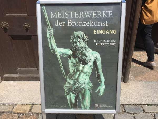 Plakat-Meisterwerke-Bronze