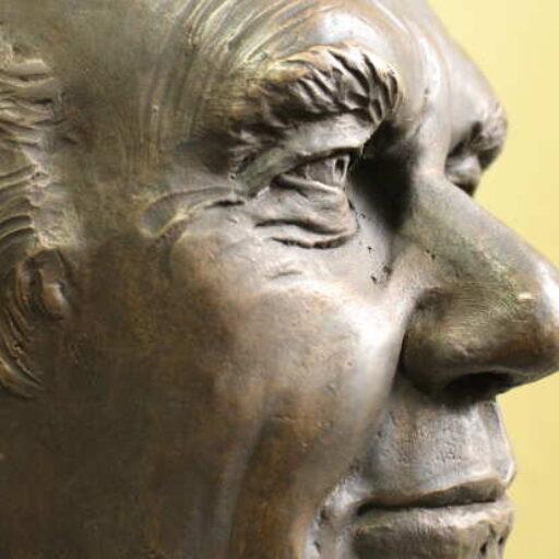 Portraitbüste-Bronze