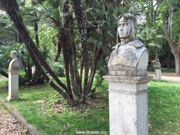 Büsten-Pincio-Rom